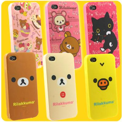 San-x Rilakkuma 鬆弛熊iPhone4 Soft Cover