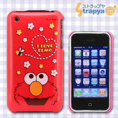 iPhone 3G/3GS Cover Sesame Street Elmo