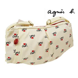 agnes b VOYAGE ab Shoulder Bag