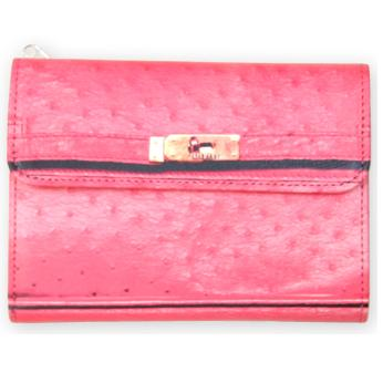 T.A.T.A. BABY 2011 SS PHOTO PRINT Wallet Ostrich shocking pink
