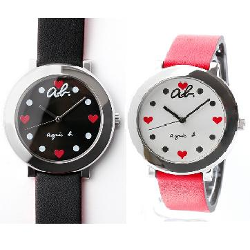 Agnes b WATCH FCSK998 ab heart