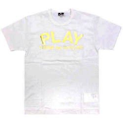 CDG 11S/S PLAY tee white PLAY