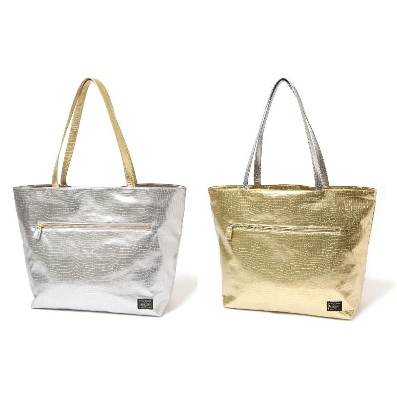 Head Porter Glitter TOTE BAG(WIDE)