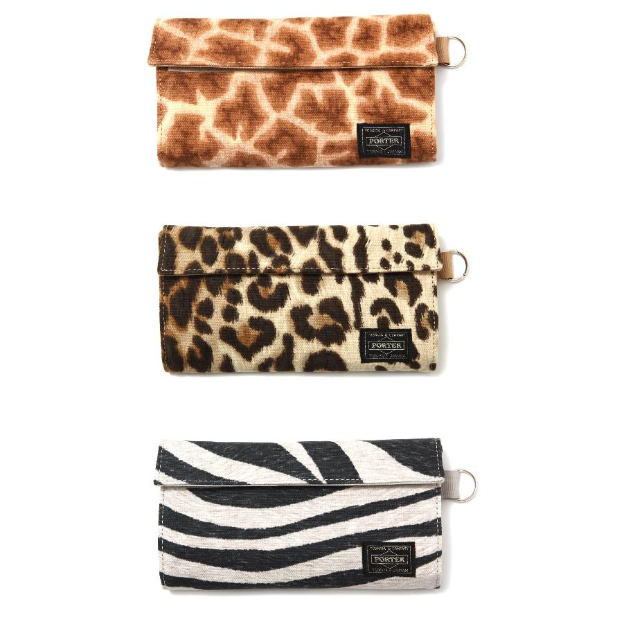 Head Porter Animal WALLET (L)