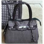 T.A.T.A. BABY Photo Print Bag (S) Studded Black (In-stock)