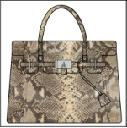T.A.T.A. BABY Photo Print Bag (S) Python (PRE-ORDER)