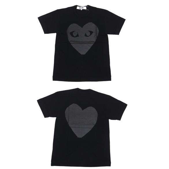 CDG black heart tee