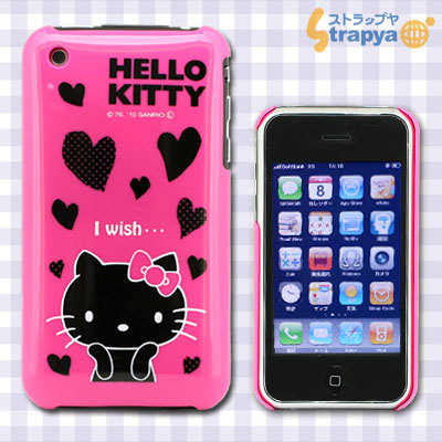 iPhone 3G/3GS専用 Cover Hello Kitty