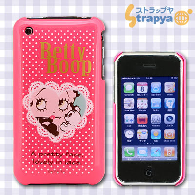 iPhone 3G/3GS専用 Cover Betty Boop