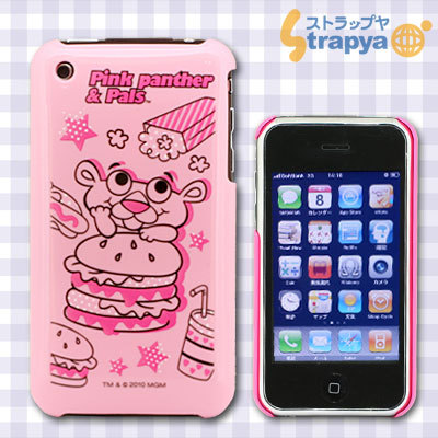 iPhone 3G/3GS専用 Cover Pink Panther