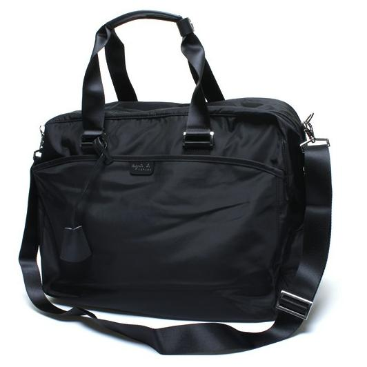 agnes b 2 way bag black