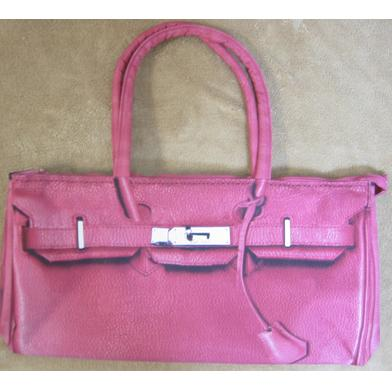 T.A.T.A. BABY Photo Print Shoulder Bag Shocking Pink (In Stock)