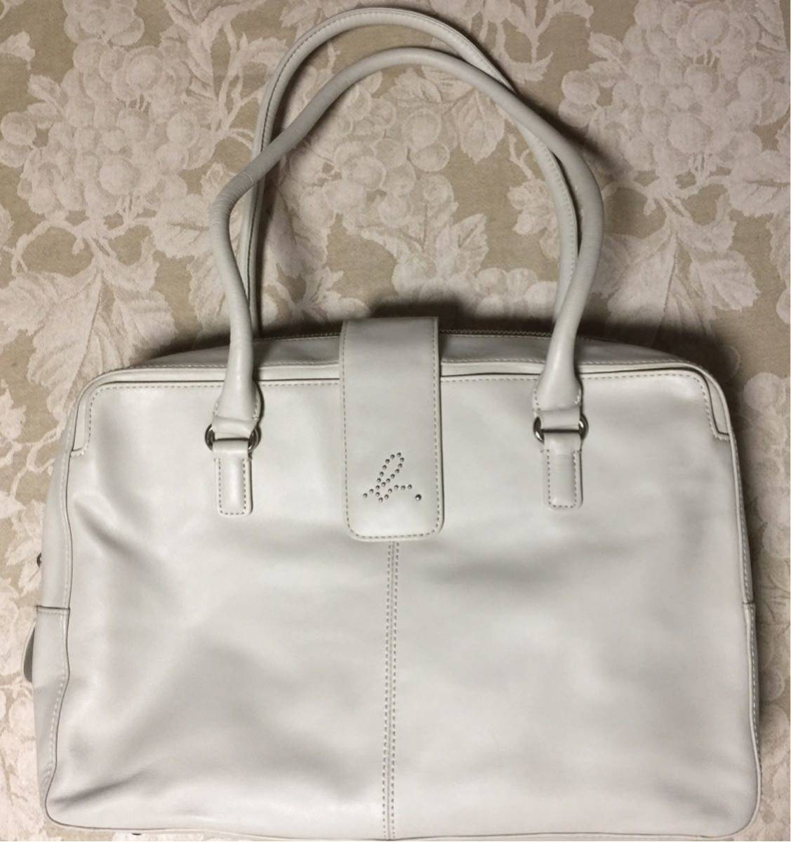 Agnes b handbag leather