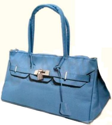 T.A.T.A. BABY Photo Print Shoulder Bag Sax Blue (In Stock)