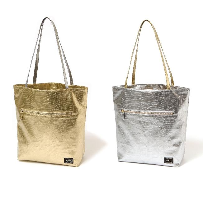 Head Porter Glitter TOTE BAG(LONG)