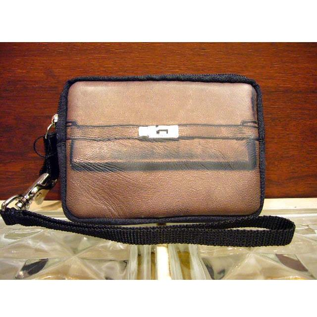 T.A.T.A. BABY 2010 AW PHOTO PRINT LEATHER CASE