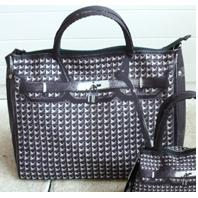 T.A.T.A. BABY Photo Print Bag (L) Studded Black (In Stock)